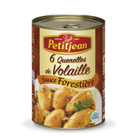 Quenelle Volaille Sauce Forestiere Petitjean